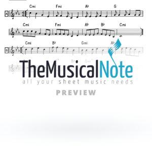 Al Hanisim Music Sheet