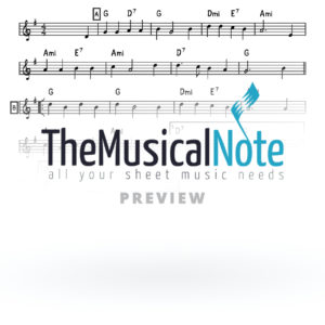 I Have A Little Draydl Music Sheet