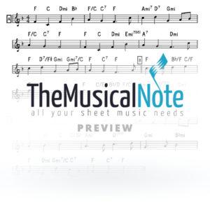 Maoz Tzur Music Sheet