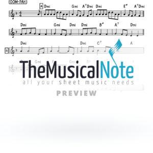Oy Chanukah Music Sheet