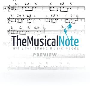 R Shaye Ben R Moishe Shimshon Neiman Music Sheet