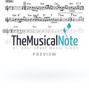 Yvonim Chabad Music Sheet