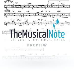 Ashreichem Yingerlich Music Sheet