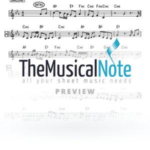Bald Yingerlich Music Sheet