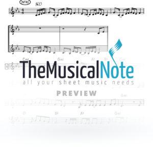 Eilecha Yesaberun Naftali Kempeh Music Sheet