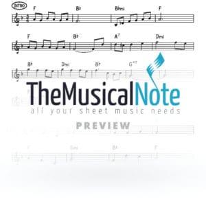 Kshoshana Music Sheet