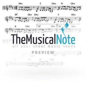 Lev Nishbar Naftali Kempeh Music Sheet