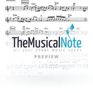 Levochen Levovos Naftali Kempeh Music Sheet