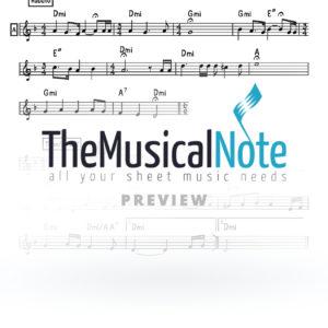 Maayan Hachaim Naftali Kempeh Music Sheet