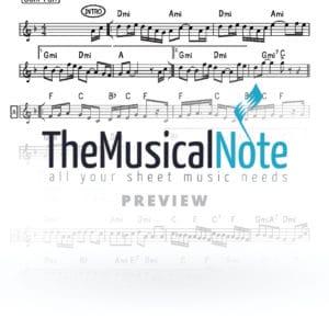 Yaaleh Yingerlich Music Sheet