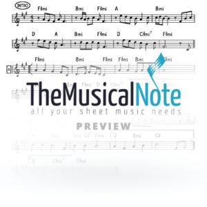 Yehalelucho Naftali Kempeh Music Sheet