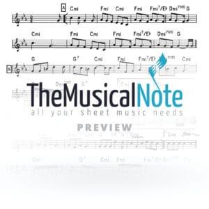 A Gutte Voch Avraham Fried Music Sheet