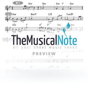 Bcho Butchee Lipa Schmeltzer Music Sheet