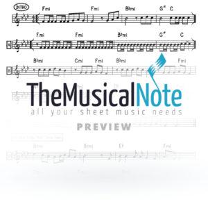 Gevaldik Lipa Schmeltzer Music Sheet