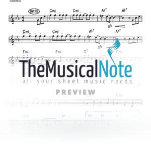 Hachut Hameshulosh Lipa Schmeltzer Music Sheet