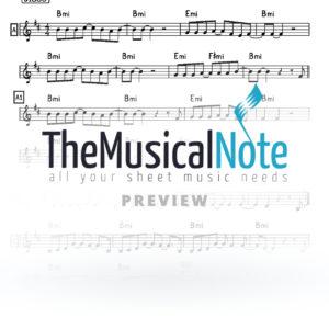 Mashke Lipa Schmeltzer Music Sheet