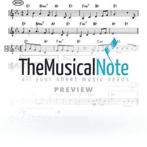 Mibon Siach Simcha Leiner Music Sheet