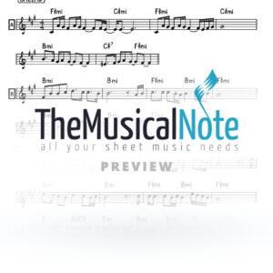 Aba Iti Ari Hill & Chaim Yisrael Music Sheet