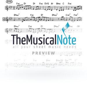Ani Acher Aaron Razel Music Sheet