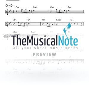 Hayehudim Baim Avi Benayoun Music Sheet