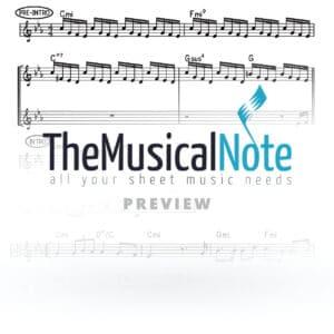 Keil Erech Motty Ilowitz Music Sheet