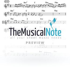 LeDavid Yaakov Shwekey Music Sheet