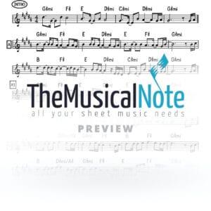 Matanot Hachaim Chaim Yisrael Music Sheet