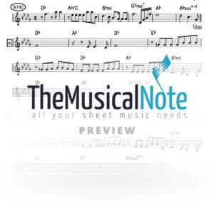 Nitzachti Iti Hakol Amir Benayoun Music Sheet