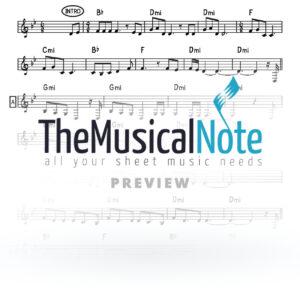 Pashut Gezingen Chaim Gold Music Sheet