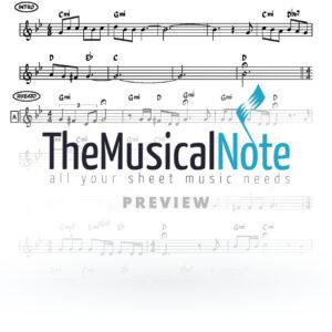 Yakob Yom Tov Ehrlich Music Sheet