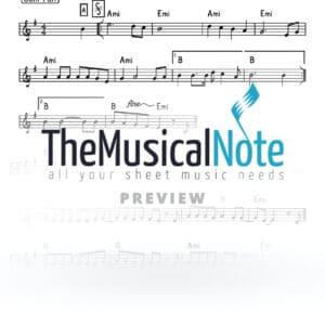 Yiddishe Taavos Motty Ilowitz Music Sheet