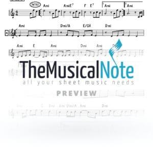 Bakesh Shloime Cohen Music Sheet