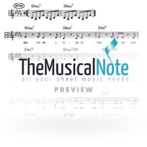 Keter Melucha Ishay Ribo Music Sheet