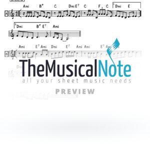 Lo Yom Vlo Layla Netanel Israel Music Sheet