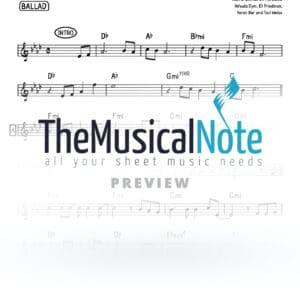 Menagnim Mehalev Eli Klein Music Sheet