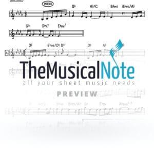 Shet chadesh Baruch Levine Music Sheet