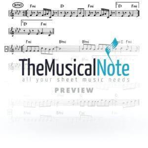 Yisgadal Yoily Klein Shaya Gross Music Sheet