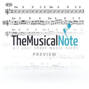 02 Lech Lecha Joey Newcomb Music Sheet