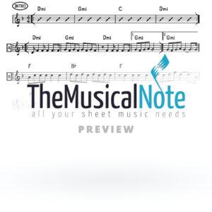 04 - Ki Malochov Shlomo Carlebach (EK) Music Sheet