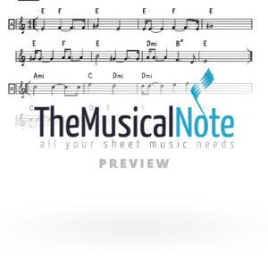 08 - Chasdei Hashem Shlomo Carlebach (EK) Music Sheet