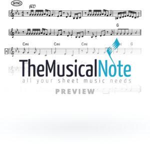 10 - Utzu Eitza Shlomo Carlebach (EK) Music Sheet