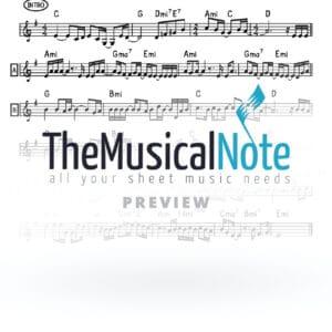 Ani Shar Avraham Fried Music Sheet