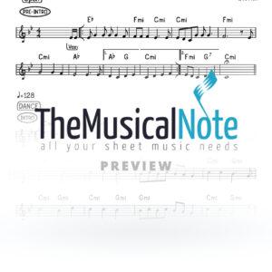 Hoshano Ari Hill Beri Weber Music Sheet