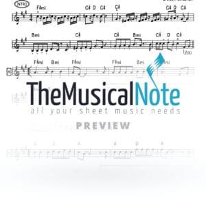 Uvchein Tzadikim Sadiger Music Sheet