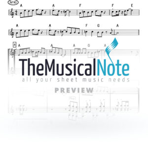 Bar Ilu Ohad Moskowitz & Shmueli Ungar Music Sheet