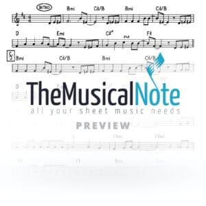 A Gutte Voch Ahrele Samet Music Sheet