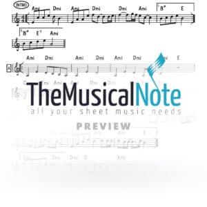 Achas Yingerlich Music Sheet
