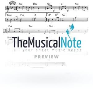 Bateil Ahrele Samet Music Sheet