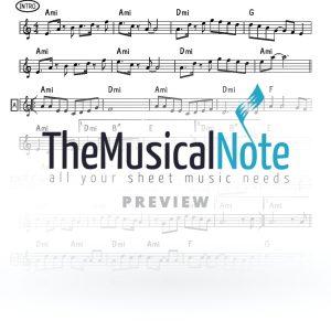 Chassidim Ahrele Samet Music Sheet