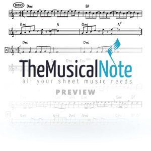 Ein-KElokeinu-Avraham-Fried-Music-Sheet